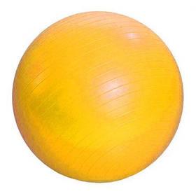 Мяч резиновый для фитнеса , 55 см (желтый) BT-SFB-0009 [fit158917-TSI]