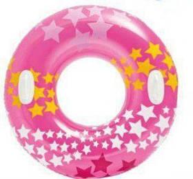 """Круг надувной """"Звездочки"""", 91 см (розовый) 59256 [kru102167-TSI]"""