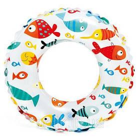 "Надувной круг ""Рыбки"", 61 см 59241 [kru102424-TSI]"
