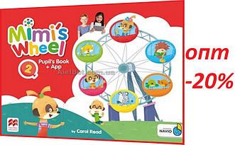 Английский язык / Mimi's Wheel / Pupil's Book with Navio App. Учебник, 2 / Macmillan