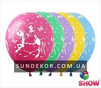Воздушные шарики Принцесса 12 (30 см) ТМ Show