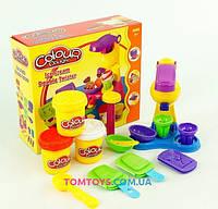 Тісто для ліплення Colour Dough набір морозива Ice cream Double Twister 6612