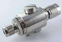 AS-T1T2-06 грозозащита в виде переходника TNC-plug TNC-jack