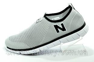 Летние кроссовки в стиле New Balance мужские в сеточку