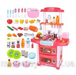 Детская игровая Кухня WD-P38 Розовая с водой