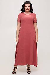 Платье ТМ ALL POSA Лада коралл 50 (100599) 52