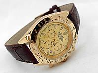 Мужские часы Rolex Daytona цвет циферблата золотой