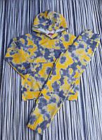 Детский костюм для девочки брюки под резинку Тай-дайразмер 7-12 лет, цвет уточняйте при заказе