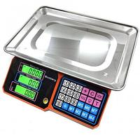 Торговые весы Blumberg 50 кг. для торговли со счетчиком цены YZ-218