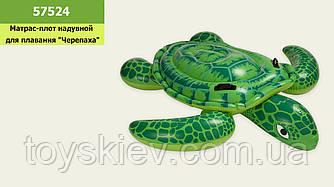 """Плотик надувной 57524 (6шт) """"Морская черепаха Лил""""от 3 лет,150*127см"""