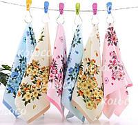 Кухонний рушник махра Квіти