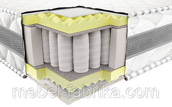 Ортопедический матрас 3Д Престиж Эко (Pocket Spring) 160х190