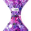 Гироскутер 10 дюймів Фіолетовий космос Гироборд самобаланс з підсвічуванням для дітей і дорослих Smart Balance, фото 3