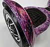 Гироскутер 10 дюймів Фіолетовий космос Гироборд самобаланс з підсвічуванням для дітей і дорослих Smart Balance, фото 6