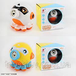 Мильні бульбашки 99073 (48шт|2) Восьминіг,2 кольори 14*14*14 см в коробці