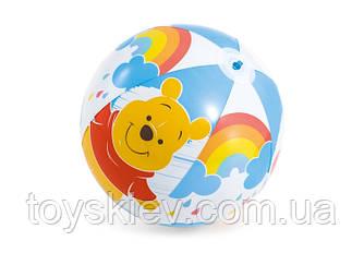 """М'яч надувн. 58025 (36шт) """"Вінні пух"""" вініл, (3+ років) 51 см"""