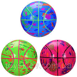 М'яч гумовий RB2108(120 шт)22 см, 200 грам,3 кольори