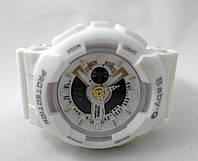 Часы женсие G-Shock - Baby _G, белые, унисекс
