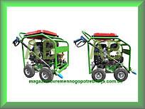 Бензиновая мойка высокого давления, аппарат высокого давления бензиновый AB tech SC25.35M