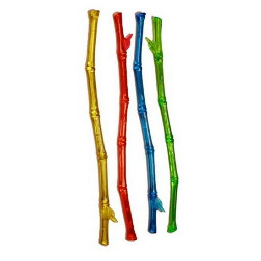 """Мішалка кольорова """"Бамбук"""" 21 см (100 шт/уп)"""