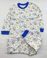 Пижама детская 3 4 5 и 6 лет для мальчика Турция детские пижамы хорошего качества с принтом хлопок