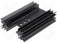 HS-135-50 радиатор черненый длина 50,8мм 9,1K/Вт для TO220