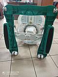 Детские музыкальные ходунки - качалка 5в1 Carrello Tesoro CRL-12703 Azure бирюзовые, фото 4