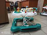 Детские музыкальные ходунки - качалка 5в1 Carrello Tesoro CRL-12703 Azure бирюзовые, фото 5