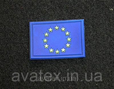 Патч с липучкой флаг Евросоюза шеврон