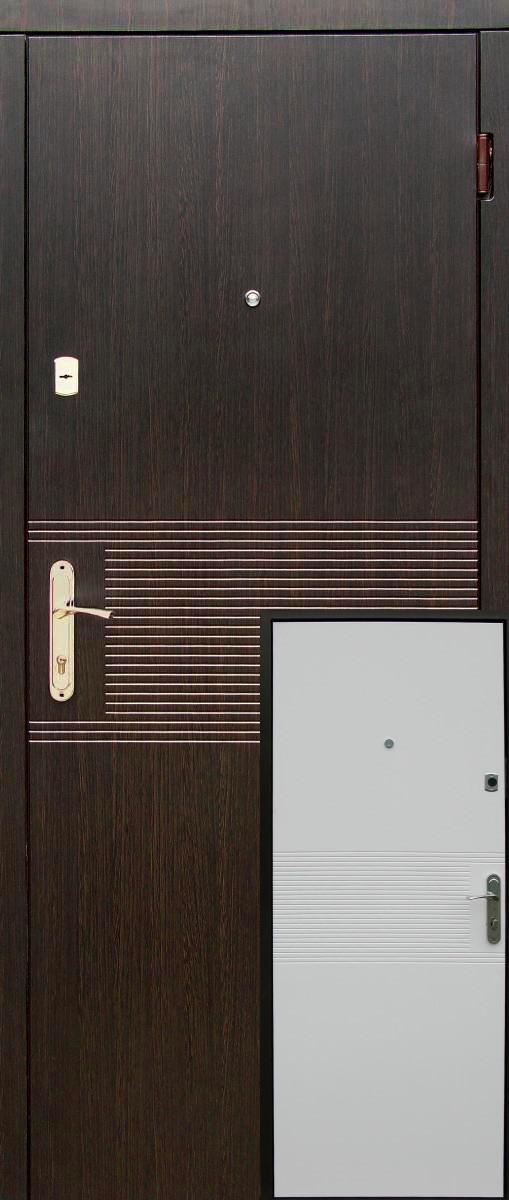 """Металические входные двери """"Редфорт (Redfort) Лайн эконом"""" МДФ в квартиру"""