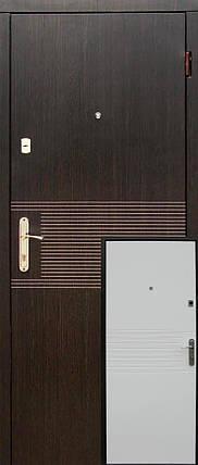 """Металические входные двери """"Редфорт (Redfort) Лайн эконом"""" МДФ в квартиру, фото 2"""