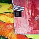 """Платок женский шелковый 86*87 см ETERNO, репродукция картины Поля Гогена """"Золотой урожай"""" ES0309-19, фото 2"""