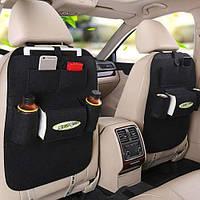 Органайзер автомобільний Auto Seat Black Автомобильный органайзер на спинку сидения