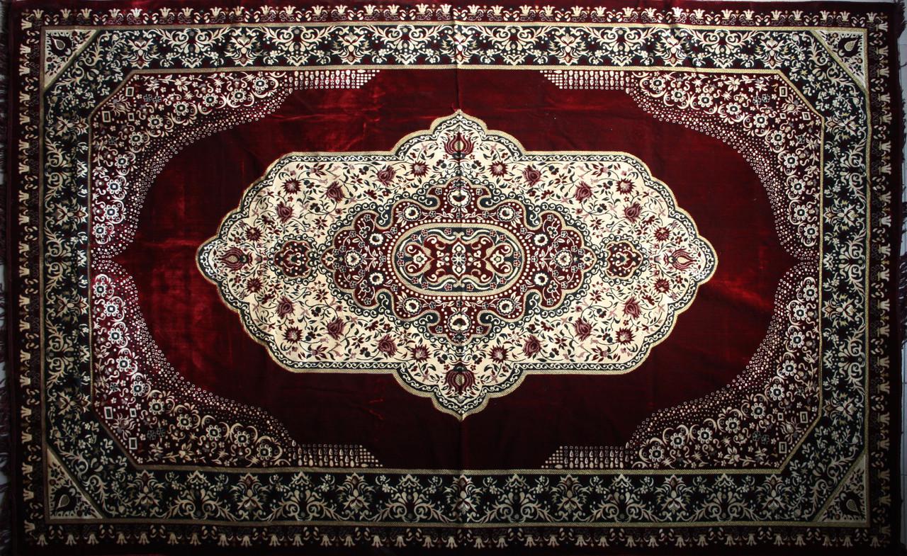 Покривало килимове (дивандек) Квіти борбо 200*300