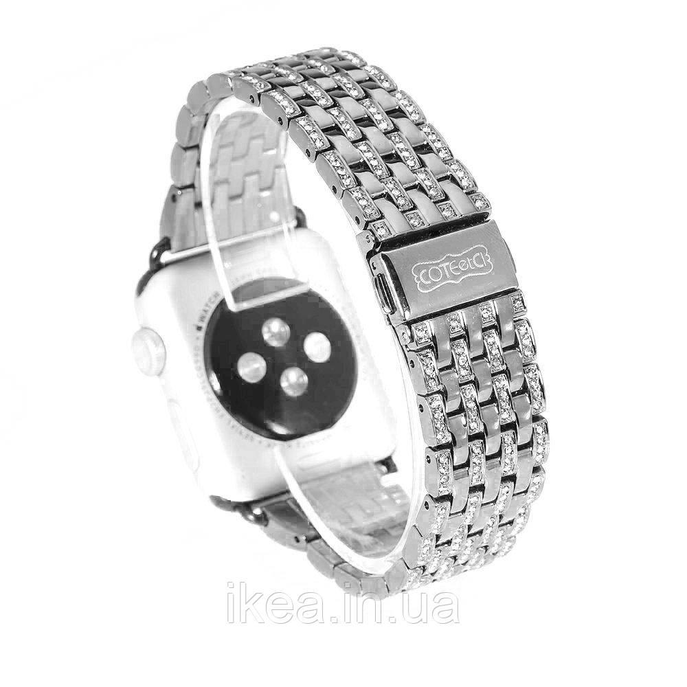 Ремінець COTEetCI W4 Magnificent сріблястий для Apple Watch 42/44 мм