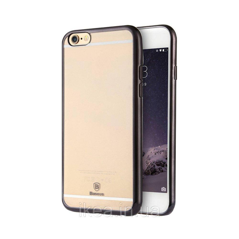 Чохол Baseus Shining чорний для iPhone 6 Plus/6S Plus