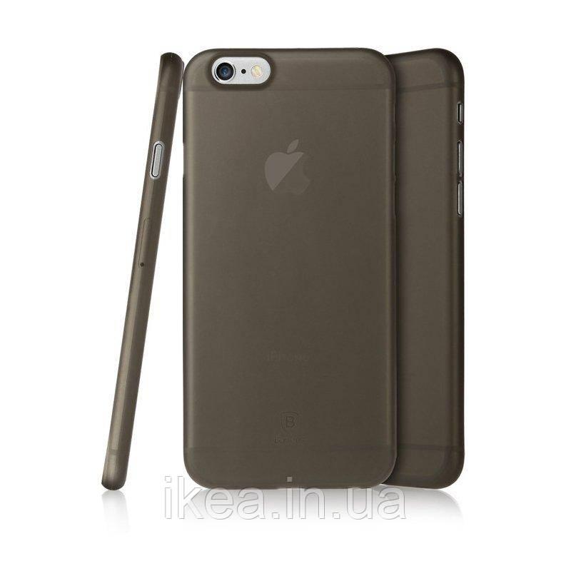 Чехол Baseus Slender черный для iPhone 6 Plus/6S Plus