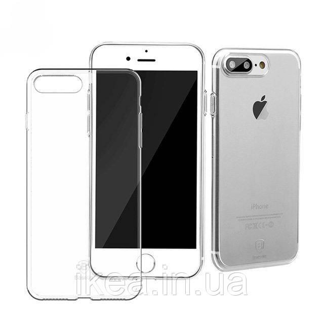Прозорий силіконовий чохол Baseus Simple для iPhone 8 Plus/7 Plus