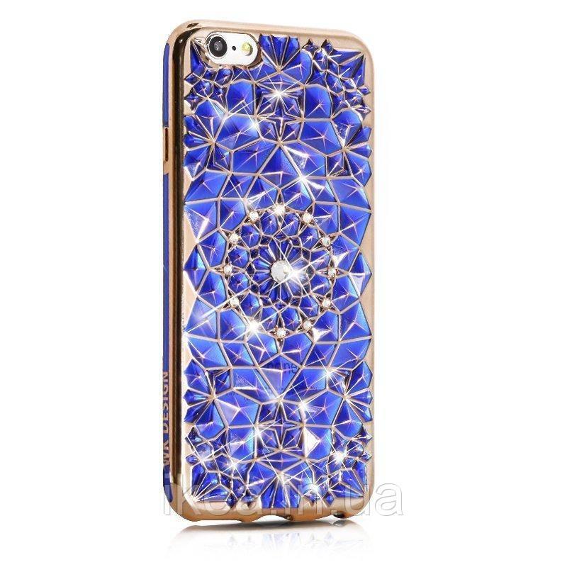 3D чохол WK Sunflower синій для iPhone 8/7/SE 2020