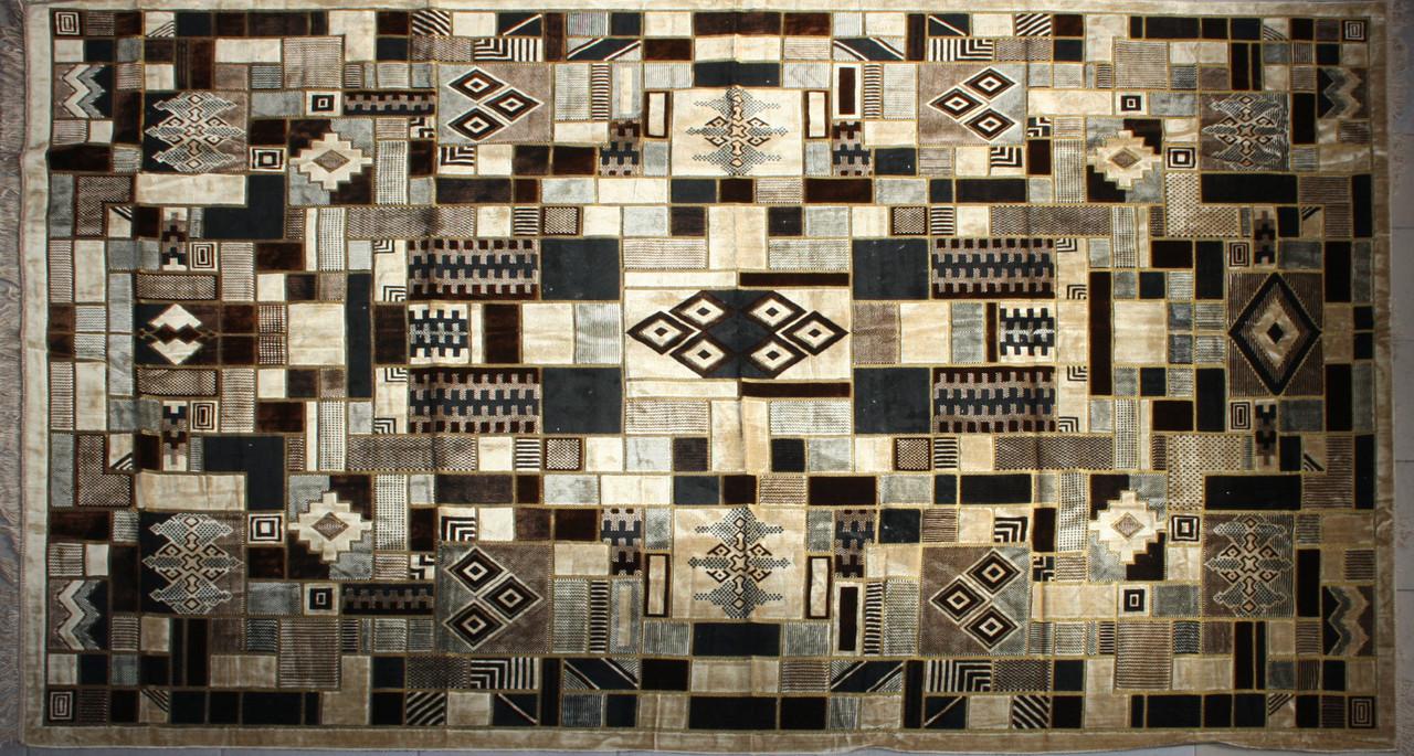 Покривало килимове (дивандек) Геометрична абстракція 200*300