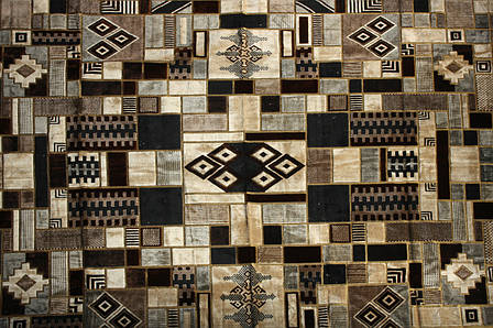 Покривало килимове (дивандек) Геометрична абстракція 200*300, фото 2