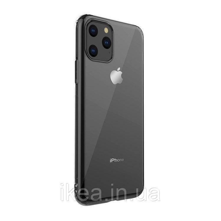 Силіконовий чохол WK Design Leclear чорний для iPhone 11 Pro Max