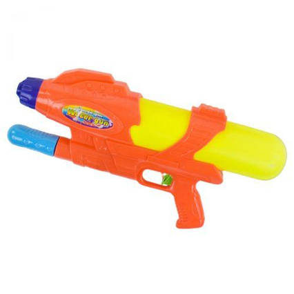 Водный пистолет Water Gun, 44 см, оранжевый 373