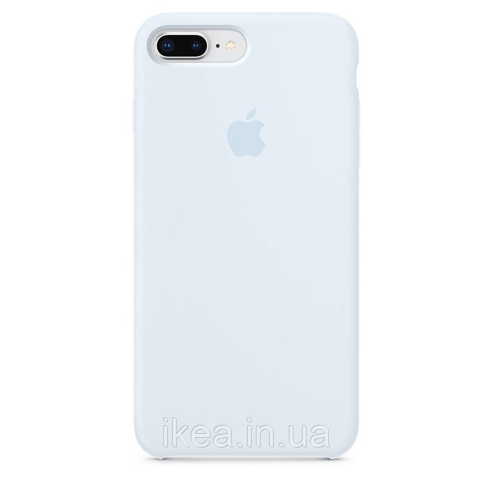 Силіконовий чохол небесний синій для iPhone 8 Plus/7 Plus