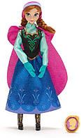 Дисней Кукла Анна Классическая Холодное сердце с подвеской Anna Classic Frozen Оригинал