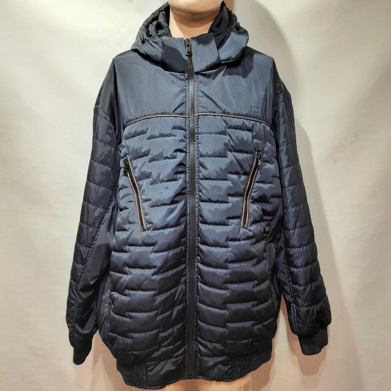 Куртка чоловіча весняна, (Супер Великих розмірів) демісезонна куртка 66-76