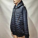 Куртка чоловіча весняна, (Супер Великих розмірів) демісезонна куртка 66-76, фото 6