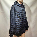 Куртка чоловіча весняна, (Супер Великих розмірів) демісезонна куртка 66-76, фото 2