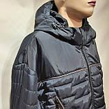 Куртка чоловіча весняна, (Супер Великих розмірів) демісезонна куртка 66-76, фото 3