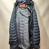 Куртка чоловіча весняна, (Супер Великих розмірів) демісезонна куртка 66-76, фото 7